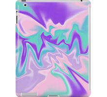 retro swirl iPad Case/Skin