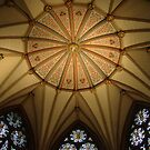 Chapter House Ceiling, York Minster! by artfulvistas