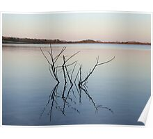 Peace on the Water after Sunset. New Jersey Nature. Poster