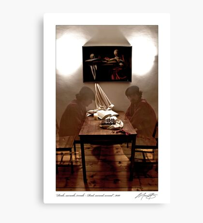 Reale, surreale, irreale - Real, surreal, unreal, 2010 Canvas Print