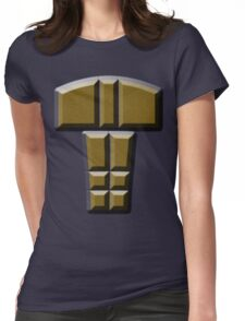 buttons Womens Fitted T-Shirt