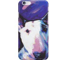 Bull Terrier Dog Bright colorful pop dog art iPhone Case/Skin