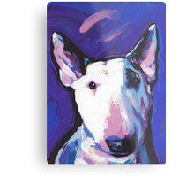 Bull Terrier Dog Bright colorful pop dog art Metal Print