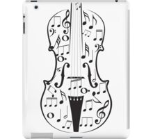 Violin with Notes iPad Case/Skin