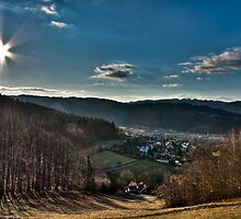 Beskydy Hills in Czech Republic 1 by Karel Kuran