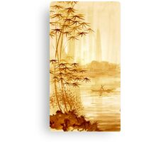 LAKE - landscape art Canvas Print