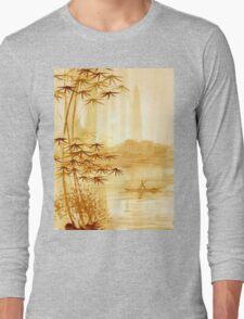 LAKE - landscape art Long Sleeve T-Shirt