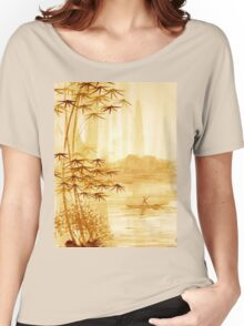 LAKE - landscape art Women's Relaxed Fit T-Shirt
