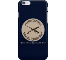 Sarah Connor's Survival Training Camp iPhone Case/Skin