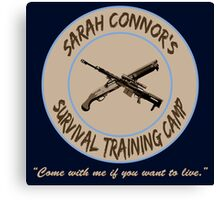 Sarah Connor's Survival Training Camp Canvas Print