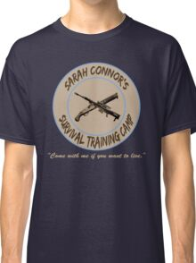 Sarah Connor's Survival Training Camp Classic T-Shirt