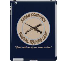 Sarah Connor's Survival Training Camp iPad Case/Skin