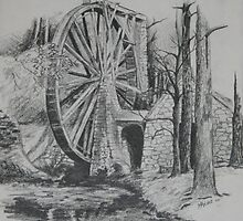 old mill by meliha bisic