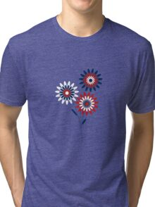 Delicate Flowers Tri-blend T-Shirt