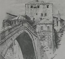 Old Bridge ,Mostar by meliha bisic