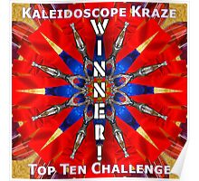 Winner! Kaleidoscope Poster