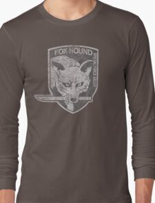 Battle Worn - Fox Hound Special Force Group  Long Sleeve T-Shirt