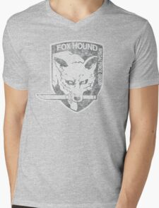 Battle Worn - Fox Hound Special Force Group  Mens V-Neck T-Shirt