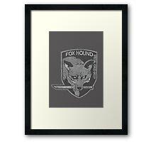 Battle Worn - Fox Hound Special Force Group  Framed Print