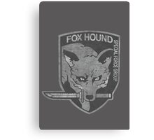 Battle Worn - Fox Hound Special Force Group  Canvas Print