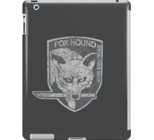 Battle Worn - Fox Hound Special Force Group  iPad Case/Skin