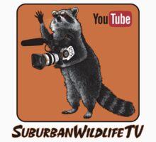 SuburbanWildlifeTV logo version3 :) Kids Tee