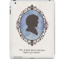 Sherlock Holmes Cameo iPad Case/Skin