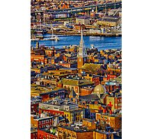 Old North Church , North End, Boston MA Photographic Print