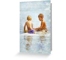 Beach Boys Greeting Card