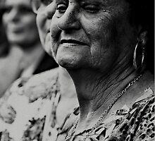 The pain of faith in their faces by Daniel Larrinaga