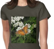 The American Painted Lady Womens Fitted T-Shirt