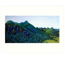 Mt Warning Vista Art Print
