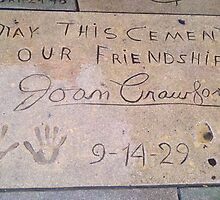 Joan Crawford: May This Cement Our Friendship by Johnny2X
