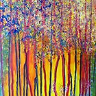 Trees at the break of a new day by Elizabeth Kendall