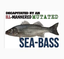 Sea-Bass Quote - Austin Powers Kids Clothes