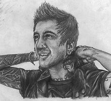 Austin Carlile Hand-drawn Portrait by tuuraschoffs