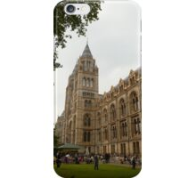 The Natural History Museum Building iPhone Case/Skin