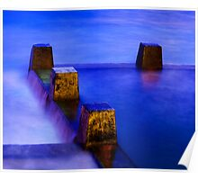Coogee Pool at Dawn 3 Poster