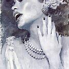 Jazz Billie Holiday by Yuriy Shevchuk