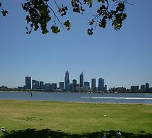 Perth From South Perth by Arkani