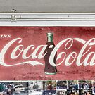 Coke Sign at Tom and Mabel&#x27;s by Kim McClain Gregal