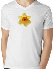 DAFFODIL FLOWER Mens V-Neck T-Shirt