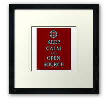 Keep Source Framed Print