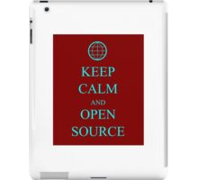 Keep Source iPad Case/Skin