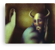 The Secret of The Minotaur Canvas Print