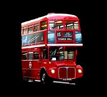 Here Comes A London Bus! by Vicki Spindler (VHS Photography)