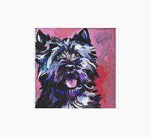 Cairn Terrier Dog Bright colorful pop dog art T-Shirt