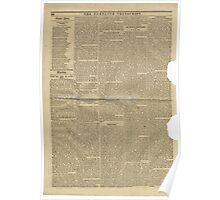 (PAGE 4) PORTLAND TRANSCRIPT, AUG.27, 1853 Poster