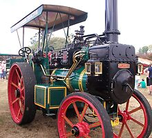 Mclaren Steam Tractor by michellerena