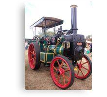 Mclaren Steam Tractor Canvas Print